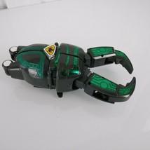 Big Bad Beetleborgs Boron Transforming Action Figure 1997 Bandai Black/Green - $39.59