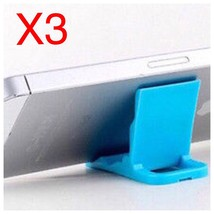 3 PCS Universal Foldable Mini Cell Phone Stand Holder for iPhone Samsung HTC A12