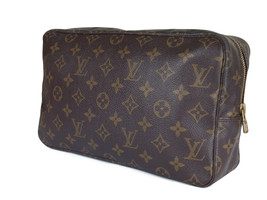 LOUIS VUITTON TROUSSE TOILETTE 28 Monogram Canvas Cosmetic Pouch Bag LP2891 - $220.00