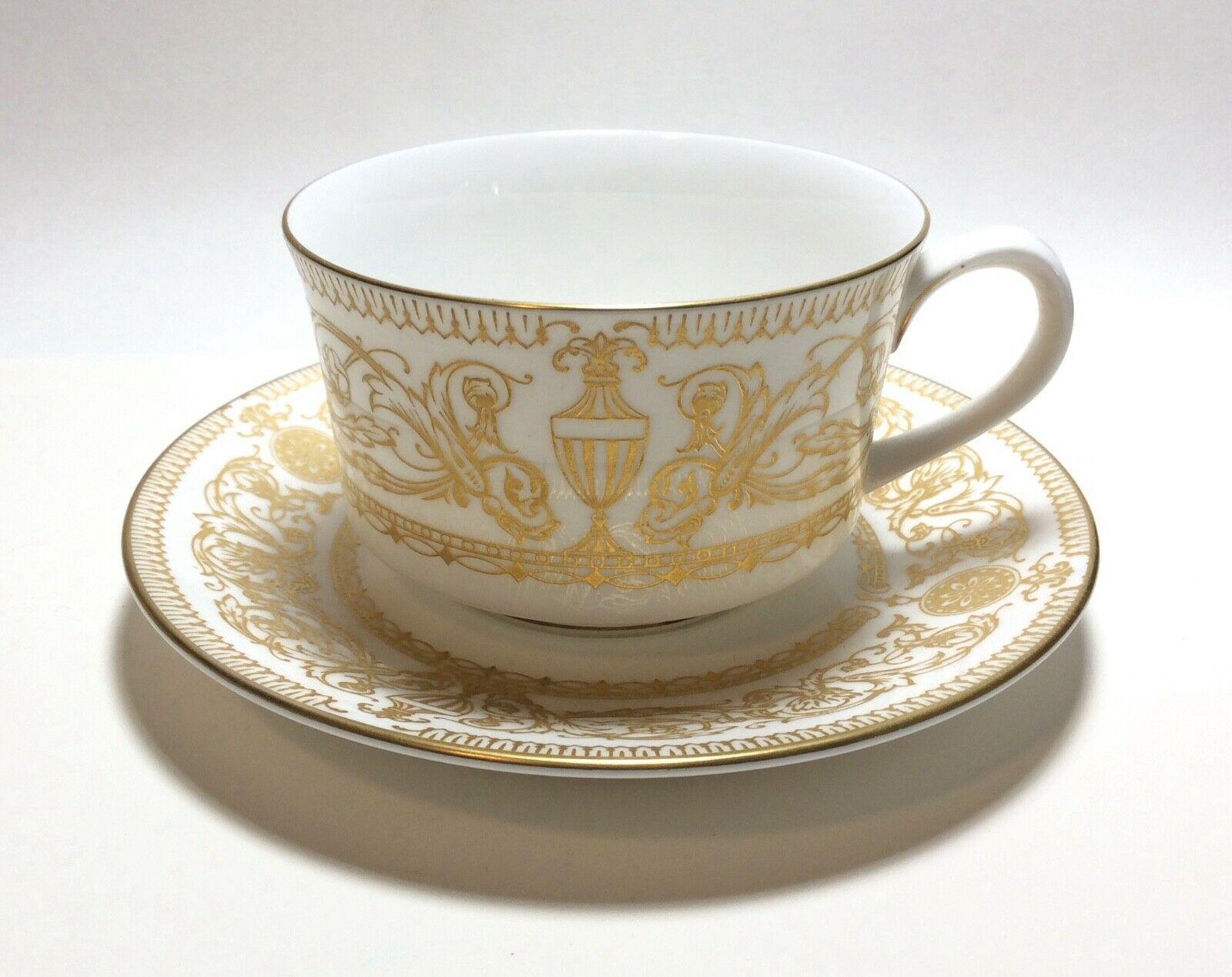 Royal Worcester Hyde Park Tea Cup & Saucer Set s