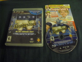 TV SuperStars Sony PlayStation 3 2010 Complete with Manual - $5.99