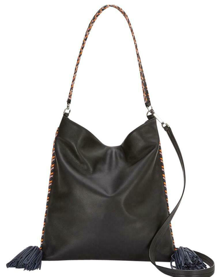 Primary image for Rebecca Minkoff  HSP7ECAH38  Chase Convertible Hobo Bag -Black $295