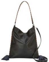 Rebecca Minkoff  HSP7ECAH38  Chase Convertible Hobo Bag -Black $295 - $128.69
