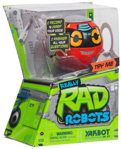 Real Rad Robots Yakbot - Red Yakbot Voices Answer Questions Interactive ... - $9.79