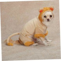 Casual Canine Jungle King Dog Costume, Large, Orange - $11.59