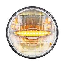 """United Pacific 3 High Power LED 7"""" Headlight W/ 10 Amber LED Daytime Running Lig - $192.59"""