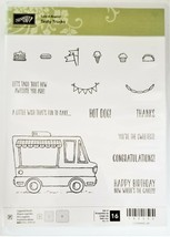 Stampin' Up! Tasty Trucks Clear Cling Stamp Set #143300 - $13.99
