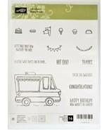 "NEW!  Stampin' Up ""Tasty Trucks"" Stamp Set #143300 - $14.35"