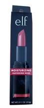 E.L.F. Moisturizing Lipstick RAVISHING ROSE .11 Oz/3.2 g Full Size New I... - $11.69