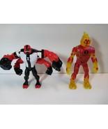 Original Bandai Ben 10 Ten Alien Force Action Figure FOUR ARMS and Heat ... - $19.79