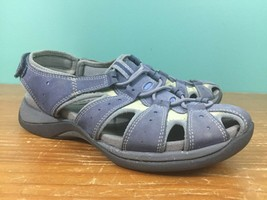 Clarks Springers Women's Sport Sandals - Size 7.5 M - Blue & Gray, Adjus... - $14.97