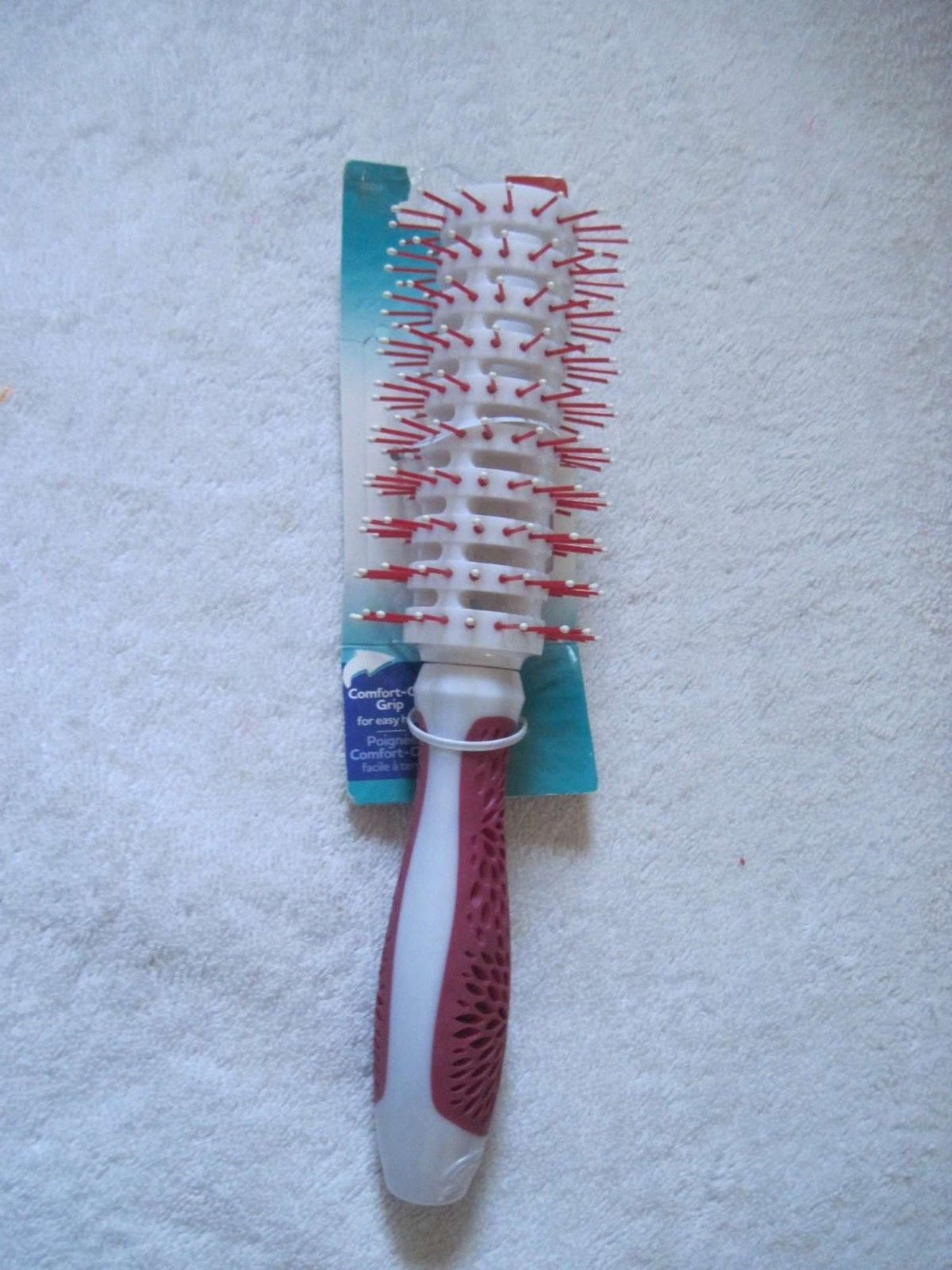 Blue Goody Comfort Cell Beauty Grips Vented Round Hair Brush Frizz Fighting Ions
