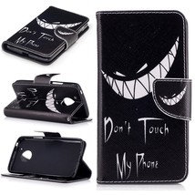 XYX Wallet Phone Case for Moto G5,[Bad Laugh][Kickstand] Painted Design ... - $9.88