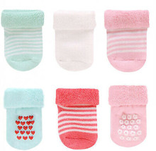 Carter's Newborn Girl's 6-Pairs Socks - Striped - $31.95