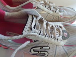 Skechers Flex 8 Women Sneakers Pink and White image 7