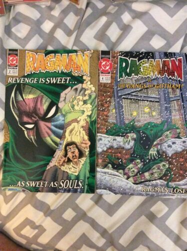DC Ragman 2 & 4 Lot of 2 Comic Books 91-92 Vintage