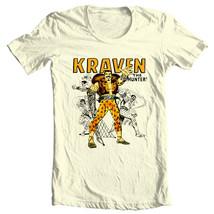Kraven Hunter graphic tee retro comic villain marvel comics sinister six T-shirt image 2