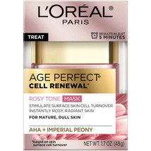 L'oreal Age Perfect Cell Renewal Rosy Tone Mask - 1.7 OZ - €10,03 EUR