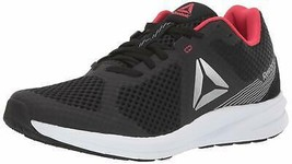 Reebok Women's Endless Road Running Shoe 9.5 Black/Grey/Pink - $74.20