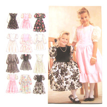 Simplicity Sewing Pattern 8967 Girls Special Occasion Flower Girl Dress ... - $6.95