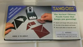 Vintage TANGOES 54 Chinese Puzzles Game Sealed Cards Rex Games Inc 1981 - $9.89