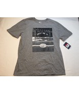 Nike Men's Athletic Cut Just Do It Graphic Grey Short Sleeve Shirt – Size L - $18.70