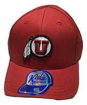 NCAA Utah Utes Fitted Hat - Youth - Adjustable - Embroidered -Red - $13.09