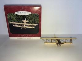 Hallmark Keepsake Ornament 1917 Curtiss JN-4D Jenny #2 In Series 1998 - $7.50