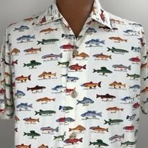 Black Mountain Outdoor Fresh Water Fishing Shirt Size 2X Trout Perch Salmon - $27.71