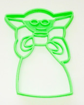 Baby Yoda Coffee Soup Adorable Space Child Star Wars Cookie Cutter USA P... - $2.99