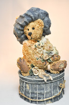 Boyds Bears: Victorian Bear - Style# 2004 - Trinket Box - Love is The Gift - $19.79