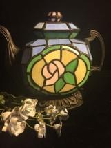 Staind Glass Lamp Tea Pot - $29.69
