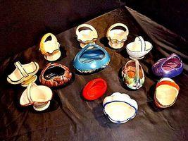 Czechoslovakia Ceramic Baskets AA18-1368-E Vintage image 7