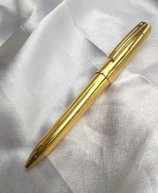 Sheaffer Prelude Ball Pen, Fluted 22K Gold Plate Finish with 22K Gold Pl... - $94.05