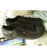Levi's BLACK skate casual shoes size 13 - $12.20