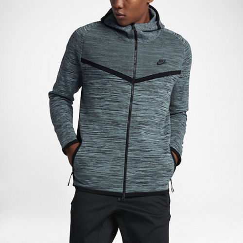 NWT $250 MEN/'S NIKE TECH KNIT WINDRUNNER HOODIE JACKET FULL ZIP SIZE SMALL