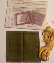 Crewel Kit Creative Village Stitchery Sally Girl Embroidering 51-951 Vintage - $9.85