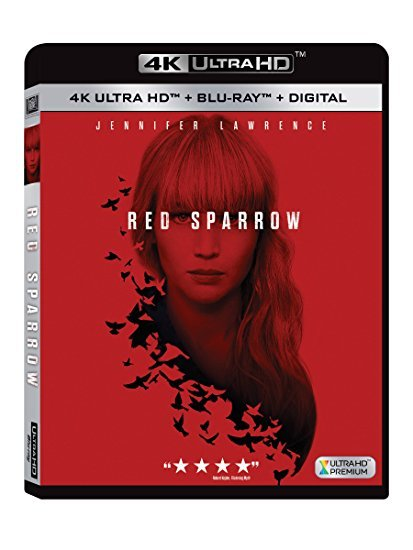 Red Sparrow [4K Ultra HD+Blu-ray] (2018)