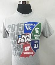 2015 NCAA Basketball Final Four Mens T-Shirt Size Small - $10.88