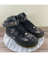 Nike AF1 Ultra Force Mid Print Black Camo Sneakers Womens Size 7 807384-001 - $59.95