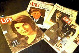 Life Magazines (Four)  John F. Kennedy and Jacqueline Kennedy AA20-2253AA Vintag