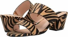 Steven by Steve Madden Women Slide Sandals Viviene Size US 7M Tiger Cow Fur - $59.94