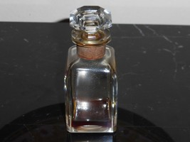 """VINTAGE BACCARAT LILAS BY SOUBISE PERFUME BOTTLE 3 3/4"""" TALL - $49.00"""
