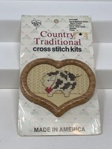 What's New Inc. Country Traditional Cross Stitch Kit Pig Farm Animal New... - $12.86