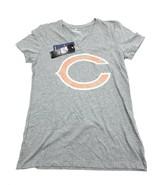 NFL PRO LINE Fanatics Women Heather Gray Chicago Bears T-Shirt Sz M - $19.95