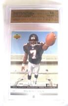 Michael Vick RC 2001 Upper Deck ROOKIE Card GEM Mint Graded SPA10-Falcon... - $69.29