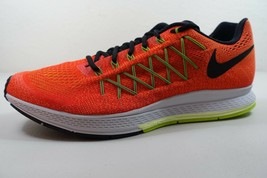 MEN'S NIKE AIR ZOOM PEGASUS 32 SHOES SIZE 15 crimson black volt 749340 607 - $51.34