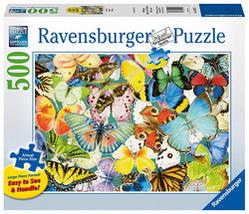Butterflies 500 Piece Puzzle  by Ravensburger  - $26.70