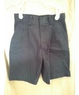 Boy's Dark Navy Pleated School Uniform Shorts Size 6 - $2.50