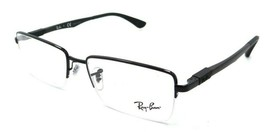 Ray-Ban Rx Eyeglasses Frames RB 6263 2509 54-17-145 Shiny Black - $117.60
